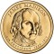 2007 P James Madison Presidential Dollar