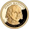 2007 S James Madison Presidential Dollar Proof