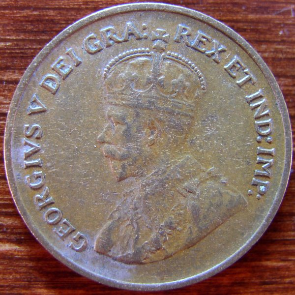 click for larger picture of 1936 Canada Cent