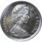 1965 Canada Voyageur Silver Dollar Cameo PL, Small Beads, Pointed 5
