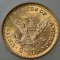 1903 Coronet Head Gold Quarter Eagle $2.50