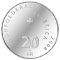 2008 B Swiss Silver 20 Francs Ice hockey centenary