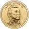 2008 P James Monroe Presidential Dollar