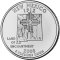 2008 P New Mexico State Quarter Dollar
