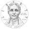 2009 Louis Braille Bicentennial Silver Dollar (line art design)