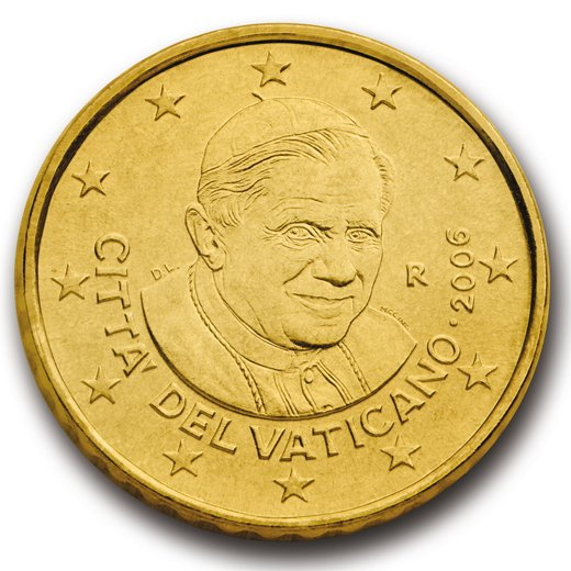 2006 R Vatican City 10 Cents