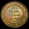 Hallock & Bates, New York, Hard Times Token