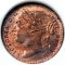 1881 Great Britain 1/3 Farthing