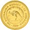 2008 Australian Nugget Gold 2 ounce 200 Dollars