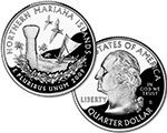 2009 S Northern Mariana Islands Quarter Dollar Proof
