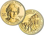 2009 W Letitia Tyler Commemorative 1/2 oz Gold $10 Uncirculated