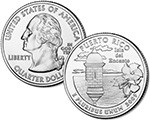 2009 Puerto Rico Quarter Dollar Uncirculated