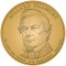2010 Millard Fillmore Presidential Dollar (line art design)
