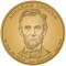2010 Abraham Lincoln Presidential Dollar (line art design)