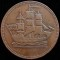 (1830s) H Canada Prince Edward Island Ships Colonies & Commerce Token