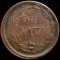 1863 Our Navy Civil War Token - Liberty Facing Right