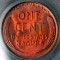 1945 S Lincoln Cent Red