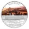 2010 P Tuvalu Silver Dollar - Mississippi River Journey