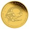 2010 P Australian Saltwater Crocodile 1/25 ounce Gold 5 Dollars Proof