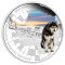 2010 P Australian Husky Silver 1 ounce Proof Dollar - Antartic Territory