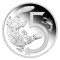 2009 P Australia Silver 5 Cent Proof Platypus and Yabbie - Tribute to 1966 Decimal Pattern