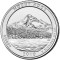 2010 P Mount Hood National Forest, Oregon Quarter Dollar Uncirculated
