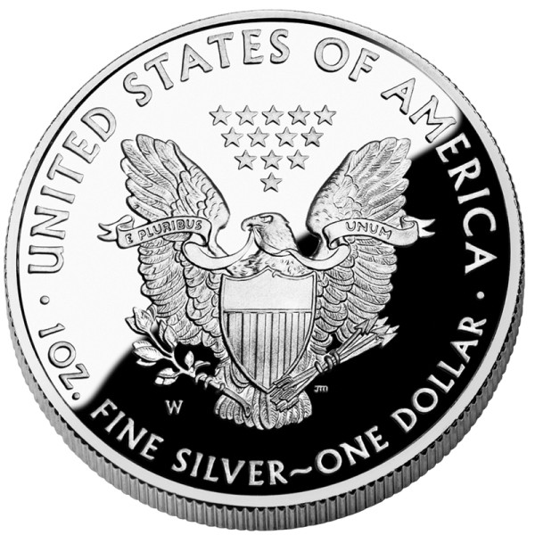click for larger picture of 2010 W American Silver Eagle Proof