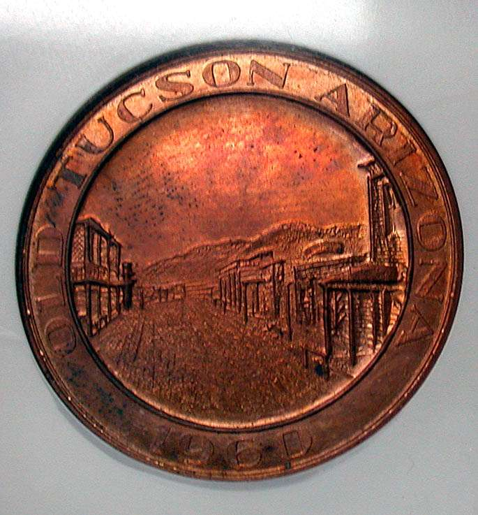 1960 Old Tucson Arizona Medal