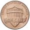 2014 Lincoln Cent Uncirculated (Shield Reverse)